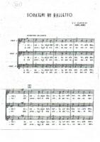 Gastoldi – Sonatemi un Balletto