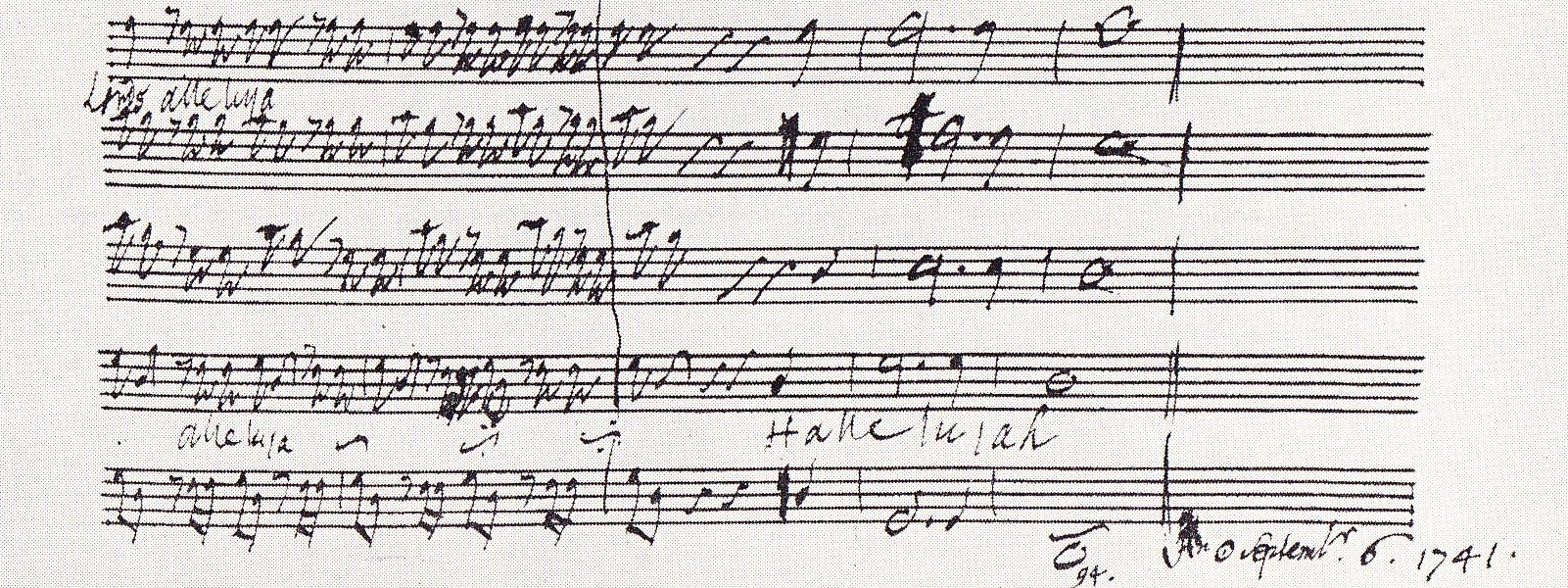 Bacheca partiture